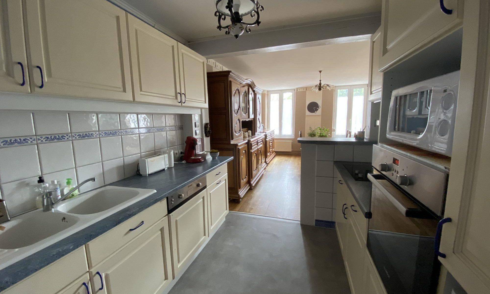 kitchen location appartment Lorraine Nancy Metz